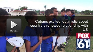 FOXNews 61 Covers The US-Cuba Goodwill Tour 2016