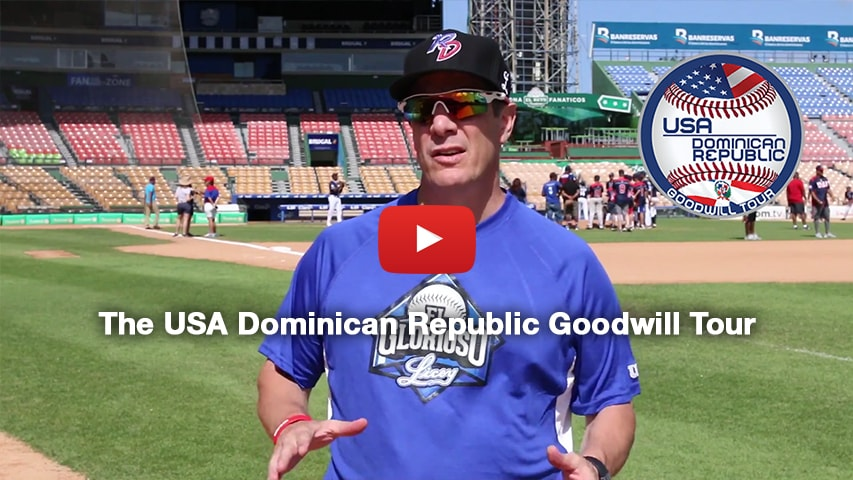 The USA Dominican Republic Goodwill Tour