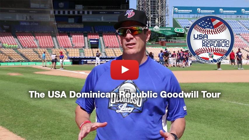 The USA Dominican Republic Goodwill Tour